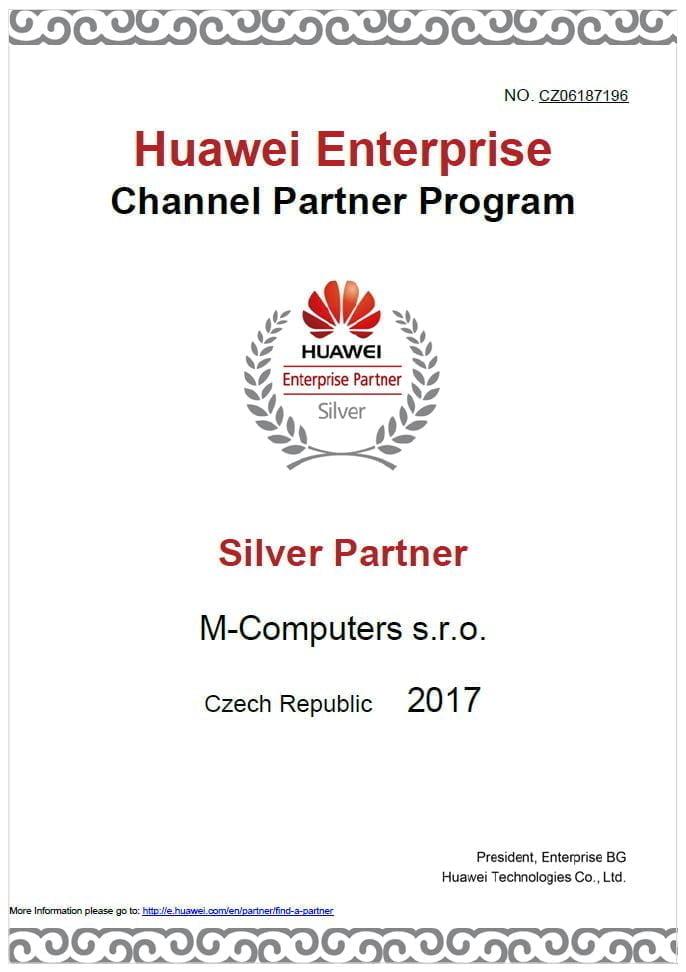Huawei Silver partner
