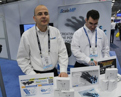 ScaleMP booth