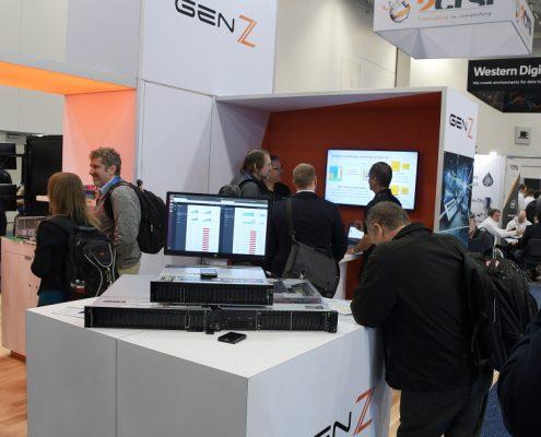 GenZ booth