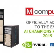 M Computers NVIDIA AI Champion 2019