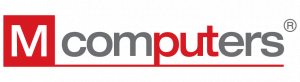 M Computers logo