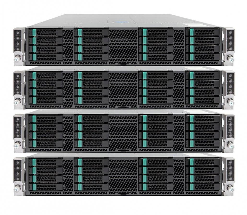 4 ks serverů Intel Data Center Blocks for Cloud